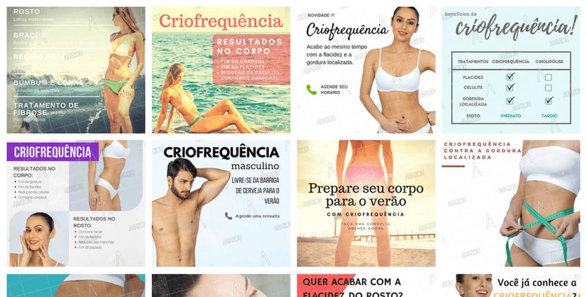 12 idéias de posts sobre Criofrequência para as suas redes sociais.