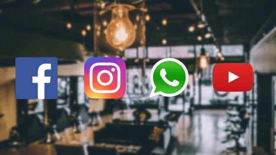 As redes sociais mais relevantes para o seu salão de beleza