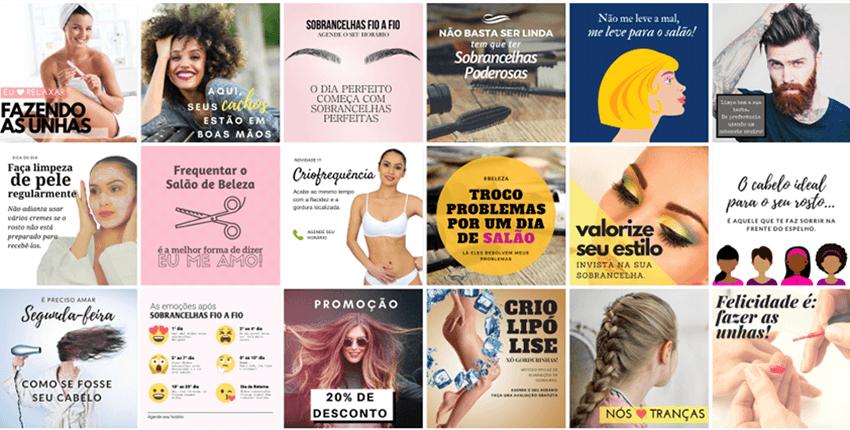 7 dicas de posts para quem possui Instagram de salão de beleza ou estética