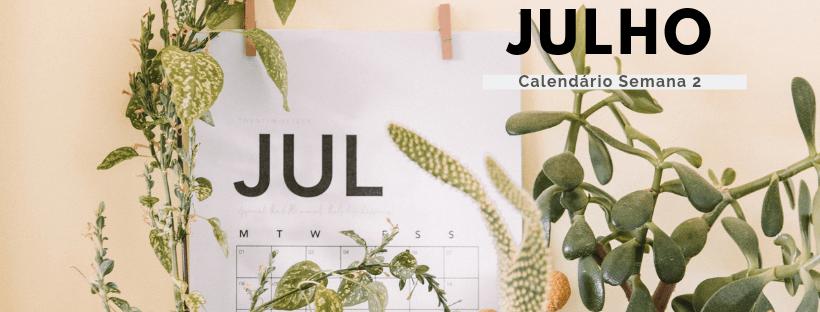 Calendário de Julho!