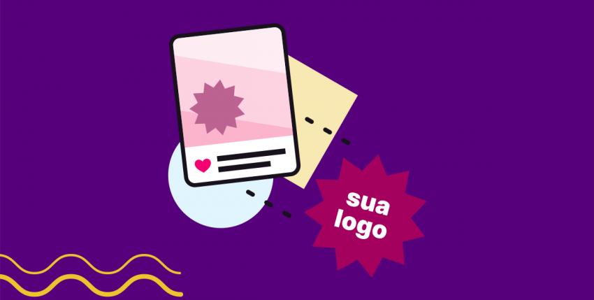 Como usar seu logotipo nas redes sociais?