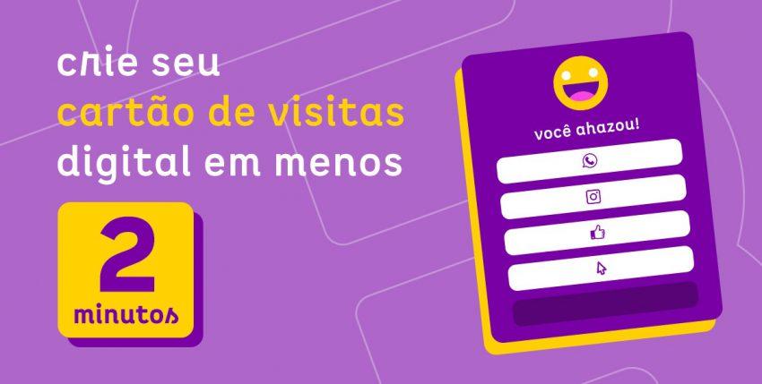 Como criar seu cartão de visitas digital em menos de 2 minutos?