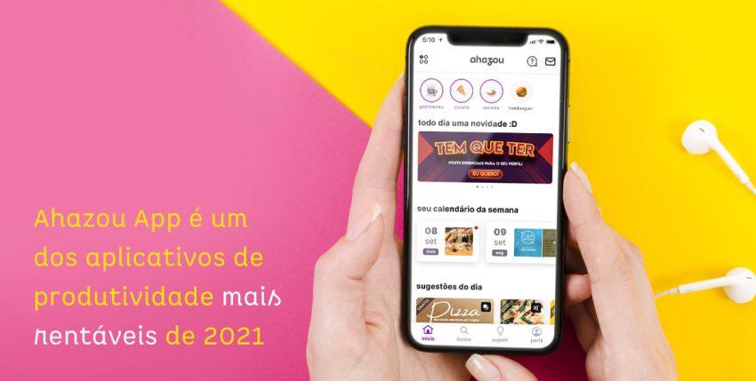 Ahazou App é um dos aplicativos de produtividade mais rentáveis de 2021